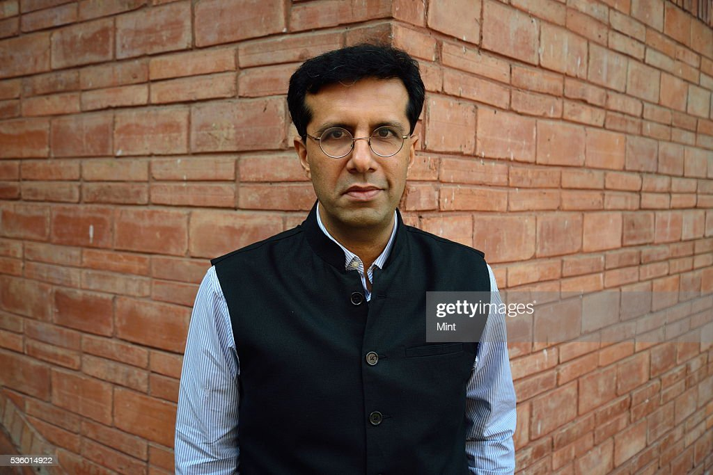Ashish Dhawan, Indian private equity investor and philanthropist, poses during an exclusive interview at India Habitat Centre on December 3, 2015 in New Delhi, India.