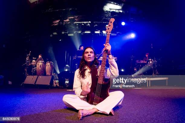 Ashish Vyas of the American band Thievery Corporation performs live during a concert at the Astra on February 24 2017 in Berlin Germany