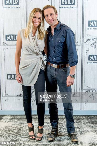 Ashlan Cousteau and Philippe Cousteau discuss 'Caribbean Pirate Treasure' with the Build Series at Build Studio on August 17 2017 in New York City