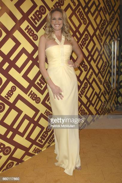 Ashlan Gorse attends 66th Annual Golden Globe Awards Official HBO After Party at Circa 55 Restaurant on January 11 2009 in Beverly Hills California