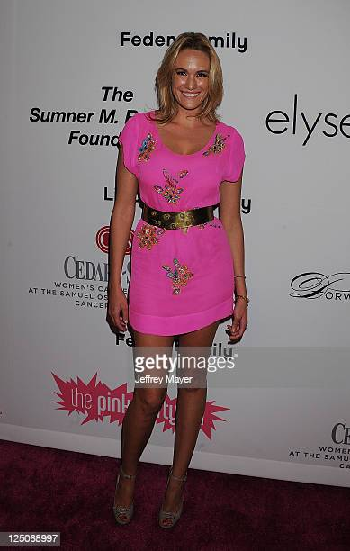 Ashlan Gorse attends the Pink Party '11 Hosted By Jennifer Garner To Benefit CedarsSinai Women's Cancer Program at Drai's Hollywood on September 10...
