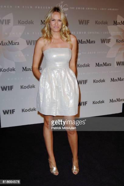 Ashlan Gorse attends Women In Film Los Angeles Presents the 2010 Crystal Lucy Awards at Hyatt Regency Century Plaza Hotel on June 1 2010 in Los...