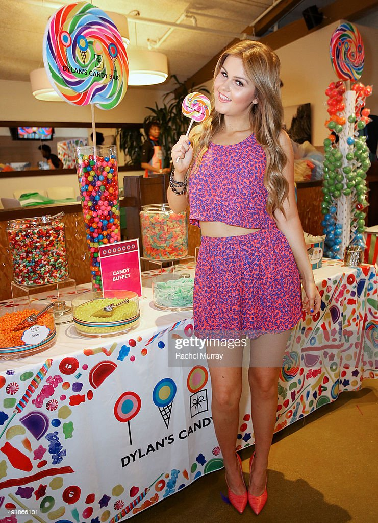Ashlee Keating attends Dylan's Candy Bar Candy Girl Collection LA launch event at Dylan's Candy Bar on May 17, 2014 in Los Angeles, California.