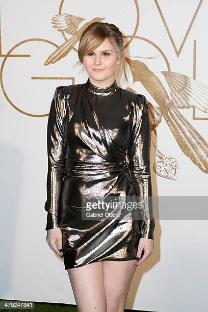 Ashlee Keating attends Sally Morrison LoveGold Celebrate Academy Award Nominee Lupita Nyong'o at Chateau Marmont on February 26 2014 in Los Angeles...