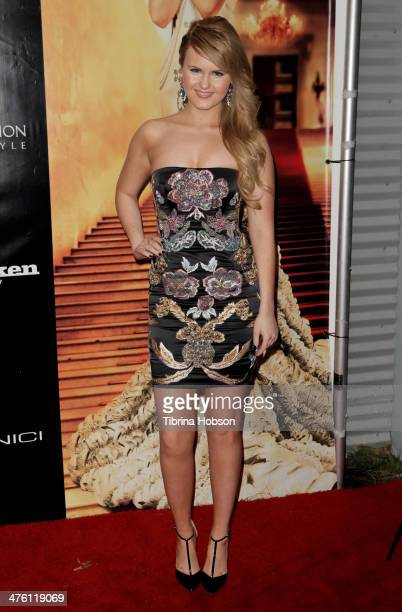 Ashlee Keating attends the SOCIETY UNICI PreOscar party at Unici Casa Gallery on March 1 2014 in Culver City California