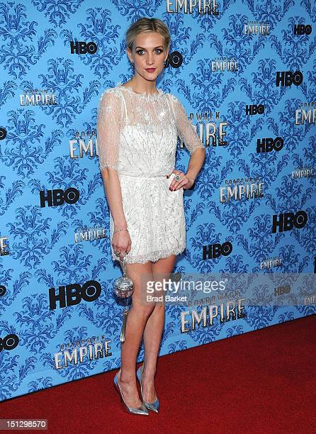 Ashlee Simpson attends HBO's 'Boardwalk Empire' Season Three New York Premiere at Ziegfeld Theater on September 5 2012 in New York City