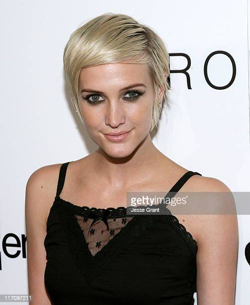 Ashlee Simpson attends the I 'Heart' Ronson and jcpenney celebration of The I 'Heart' Ronson Collection held at the Hollywood Roosevelt Hotel on June...