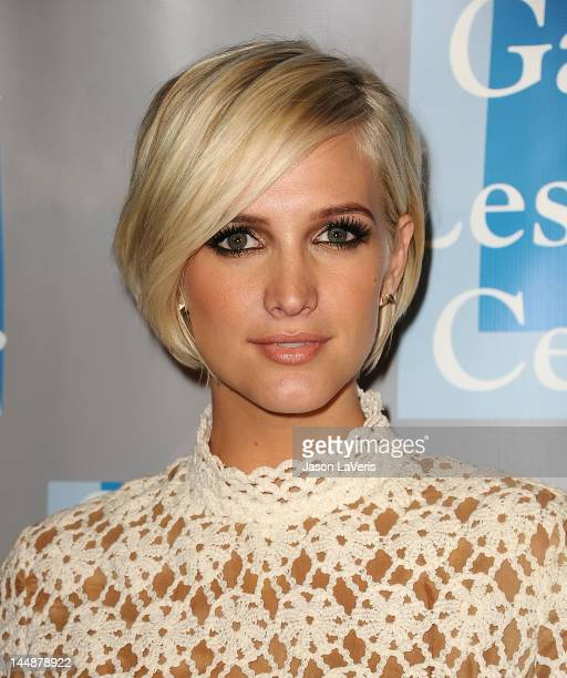 Ashlee Simpson attends the LA Gay Lesbian Center's 'An Evening With Women' at The Beverly Hilton Hotel on May 19 2012 in Beverly Hills California