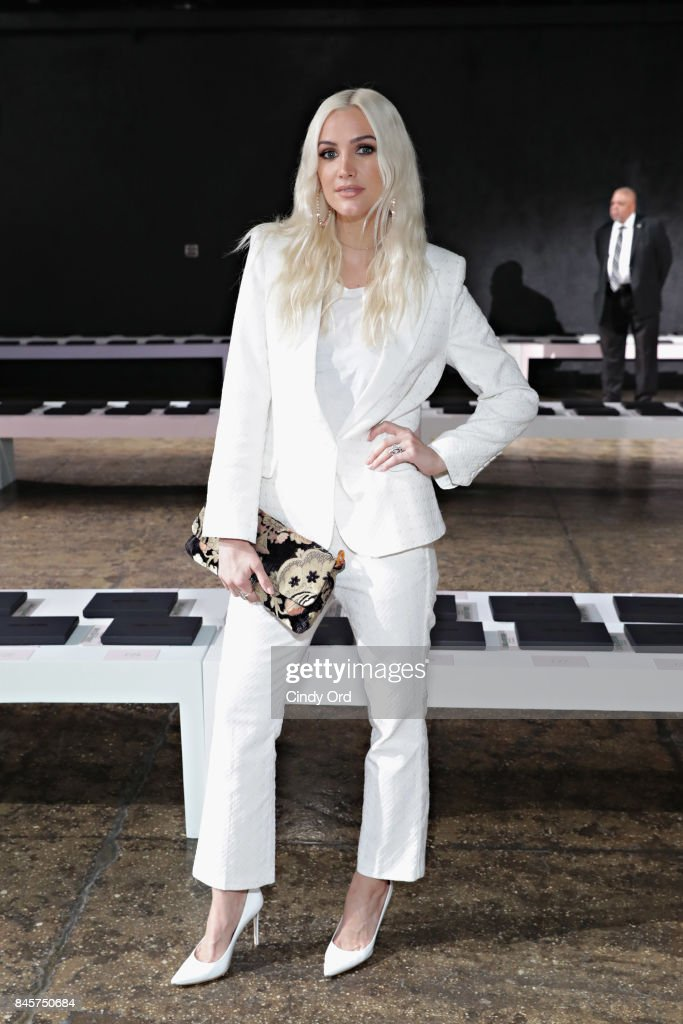 Ashlee Simpson attends the Zadig & Voltaire September 2017 fashion show during New York Fashion Week at Cedar Lake on September 11, 2017 in New York City.