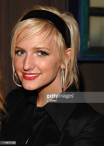 Ashlee Simpson during Teen People Celebrates 2nd Annual Young Hollywood Issue Sponsored by EA Games and Baby Phat Inside at Cabana Club in Hollywood...