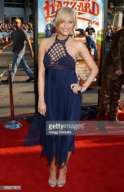 Ashlee Simpson during 'The Dukes of Hazzard' Los Angeles Premiere Arrivals at Grauman's Chinese Theatre in Hollywood California United States