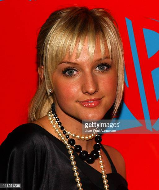 Ashlee Simpson during The WB Network's 2004 All Star Party at Hollywood Highland in Hollywood California United States