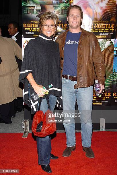Ashleigh Banfield and Howard Gould during New York Premiere of Kung Fu Hustle at Ziegfeld Theater in New York City New York United States