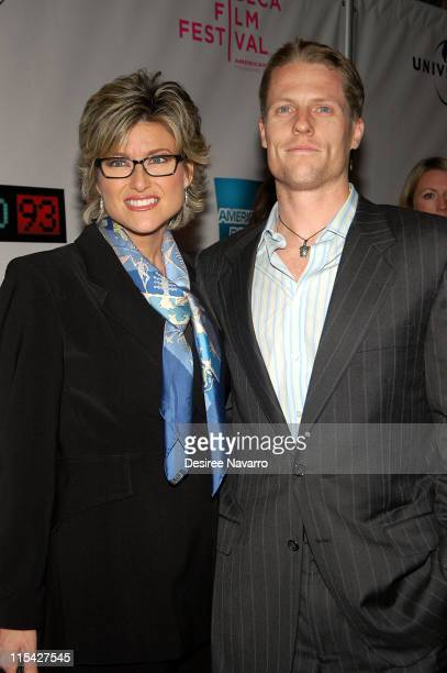 Ashleigh Banfield and Howard Gould during 'United 93' New York Premiere Arrivals at Ziegfeld Theater in New York City New York United States