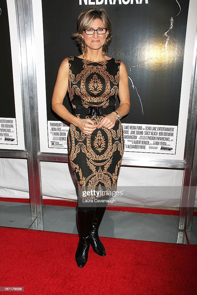 <a gi-track='captionPersonalityLinkClicked' href=/galleries/search?phrase=Ashleigh+Banfield&family=editorial&specificpeople=4534546 ng-click='$event.stopPropagation()'>Ashleigh Banfield</a> attends the 'Nebraska' screening at Paris Theater on November 6, 2013 in New York City.