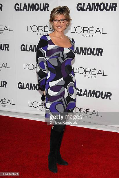 Ashleigh Banfield during Glamour Magazine Honors The 2006 'Women of The Year' Arrivals at Carnegie Hall in New York City New York United States