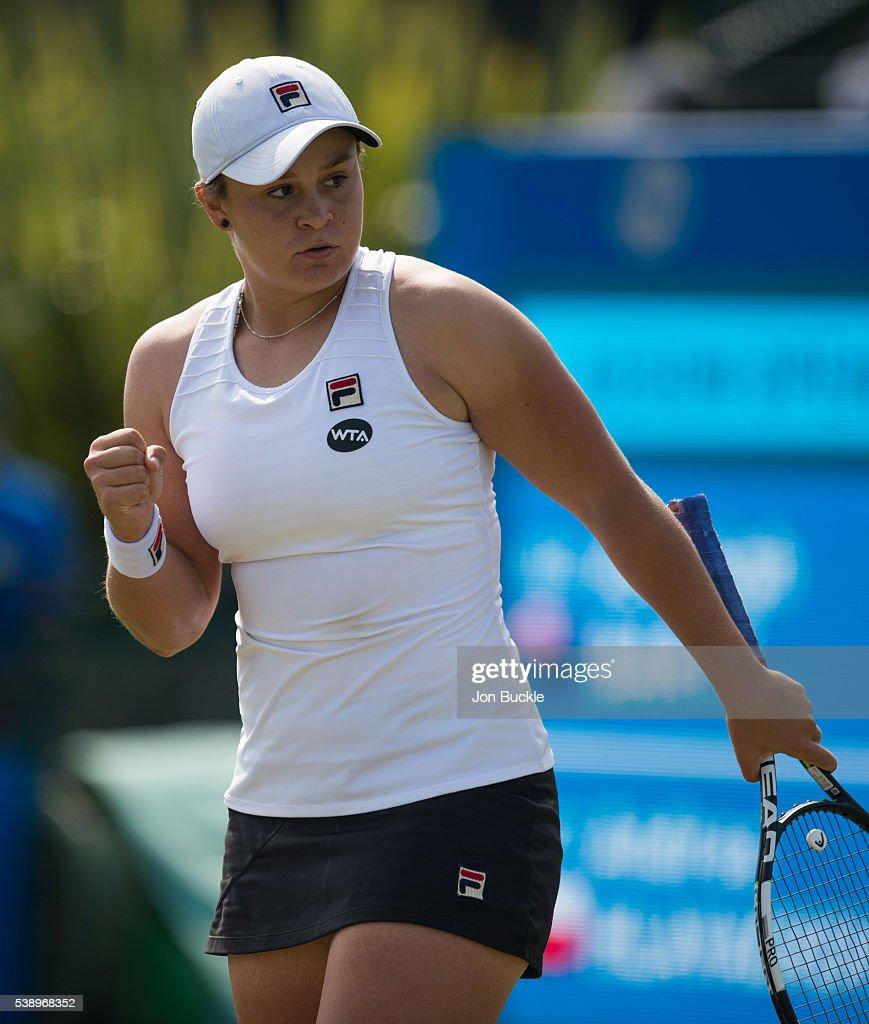Ashleigh Barty: WTA Aegon Open Nottingham - Day 4