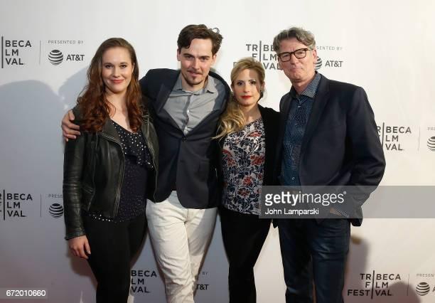 Ashleigh Bell Adrian Buitenhuis Jaimee Kosanke and Derik Murray attend 'I Am Heath Ledger ' during the 2017 Tribeca Film Festival at Spring Studios...