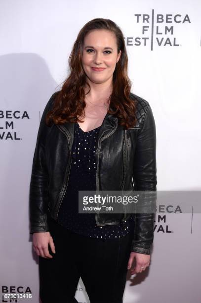 Ashleigh Bell attends the 'I Am Heath Ledger' premiere during the 2017 Tribeca Film Festival at Spring Studios on April 23 2017 in New York City