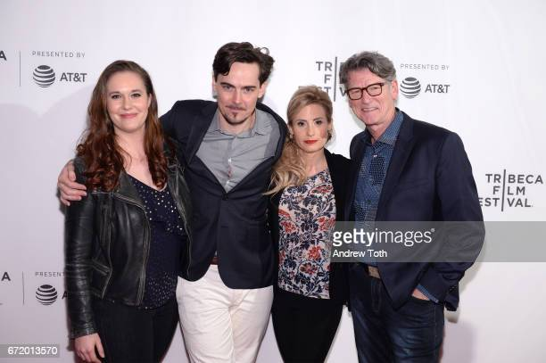 Ashleigh Bell director Adrian Buitenhuis Kate Ledger and director Derik Murray attend the 'I Am Heath Ledger' premiere during the 2017 Tribeca Film...