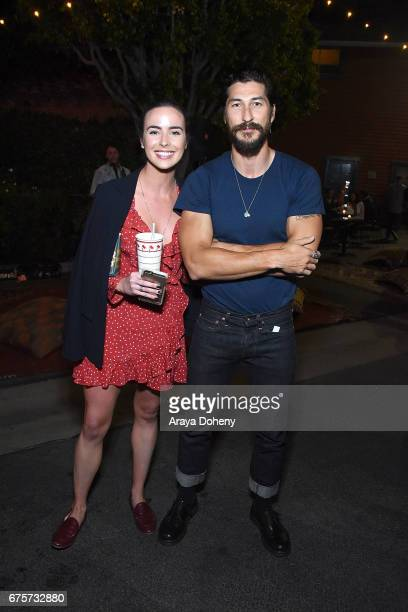 Ashleigh Brewer and Ryan Porter attend the Australians in Film hosts the premiere of Spike TV's 'I Am Heath Ledger' After Party on May 1 2017 in Los...