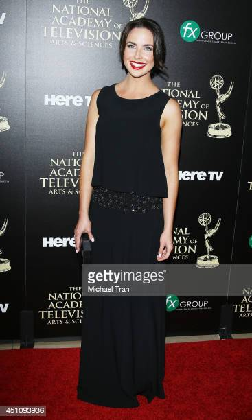 Ashleigh Brewer arrives at the 41st Annual Daytime Emmy Awards held at The Beverly Hilton Hotel on June 22 2014 in Beverly Hills California