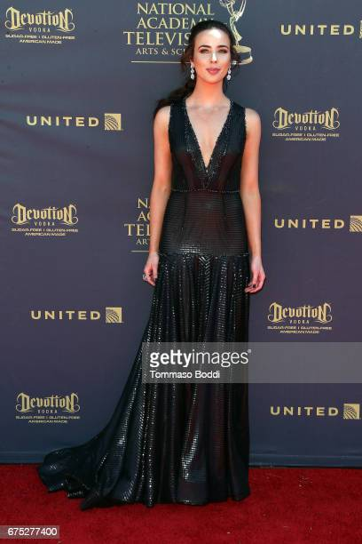 Ashleigh Brewer attends the 44th Annual Daytime Emmy Awards at Pasadena Civic Auditorium on April 30 2017 in Pasadena California