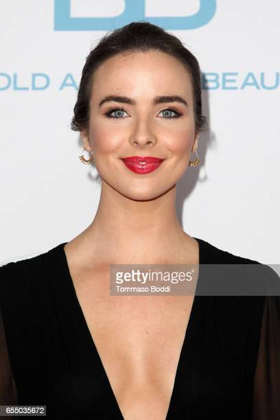 Ashleigh Brewer attends the CBS's 'The Bold And The Beautiful' 30th Anniversary Party at Clifton's Cafeteria on March 18 2017 in Los Angeles...