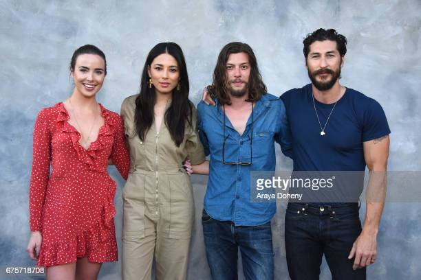 Ashleigh Brewer Jessica Gomes Benedict Samuel and Ryan Porter attend the Australians in Film hosts the premiere of Spike TV's 'I Am Heath Ledger'...