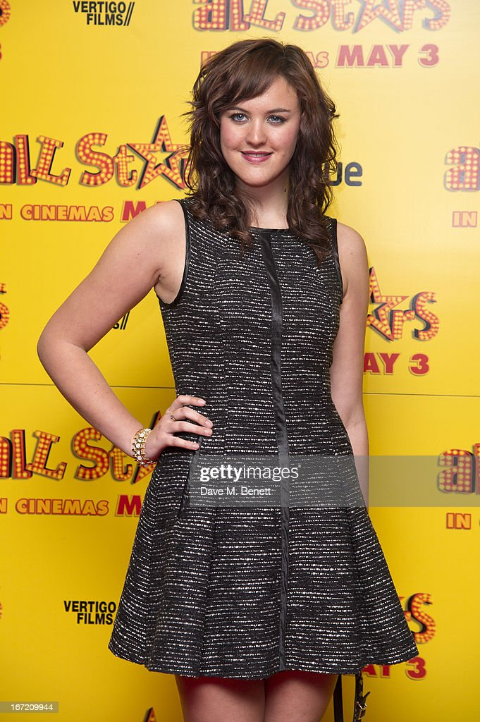 Ashleigh Butler attends the UK Premiere of 'All Stars' at Vue West End on April 22, 2013 in London, England.