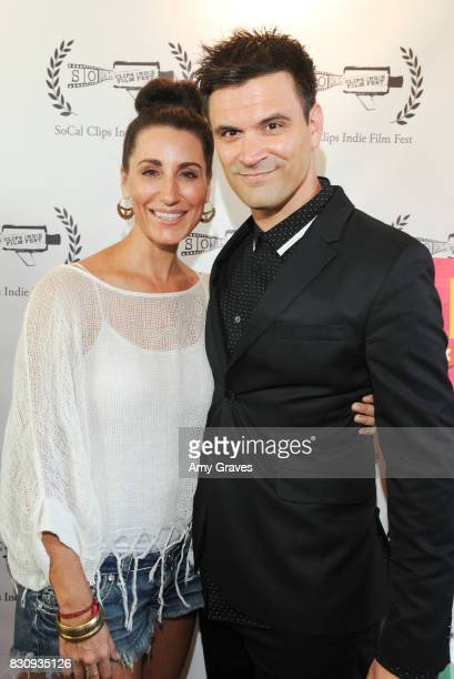 C Ashleigh Caldwell and Kash Hovey attend the Premiere Of 'As In Kevin' At Socal Clips Indie Film Fest on August 12 2017 in Los Angeles California