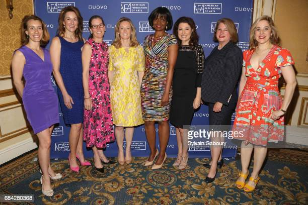 Ashleigh Fernandez Jennifer New Lee White Galvis Clare McKeon Pauline Willis Capera Ryan Charlotte Eyerman and Elizabeth Belfer attend American...