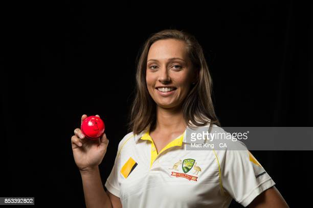 Ashleigh Gardner poses during a Cricket Australia Women's Player Camp at the Centre For Excellence on September 18 2017 in Brisbane Australia