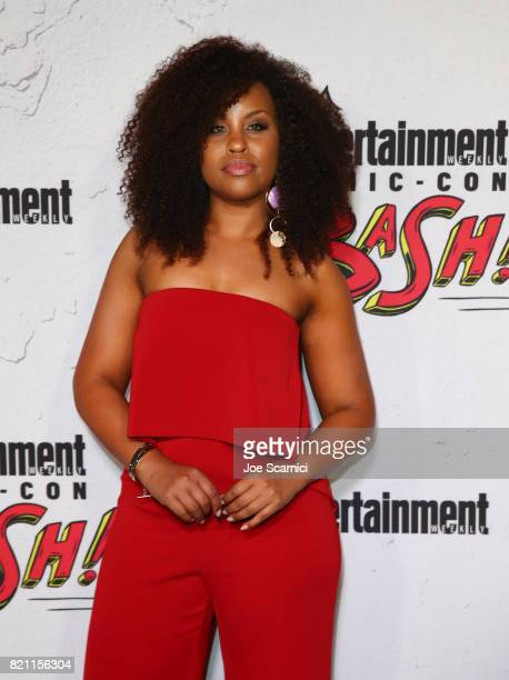 Ashleigh Murray at Entertainment Weekly's annual ComicCon party in celebration of ComicCon 2017 at Float at Hard Rock Hotel San Diego on July 22 2017...