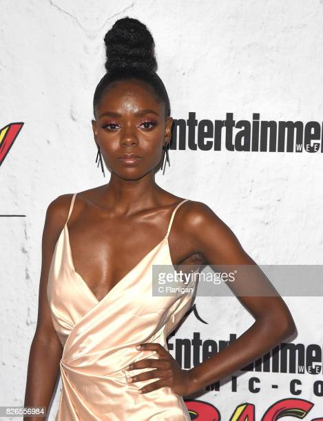Ashleigh Murray attends Entertainment Weekly's annual ComicCon party in celebration of ComicCon 2017 at Float at Hard Rock Hotel San Diego on July 22...
