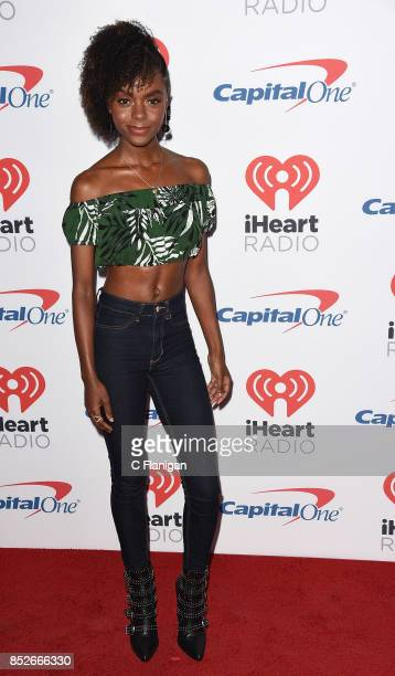 Ashleigh Murray from 'Riverdale' attends the 2017 iHeartRadio Music Festival at TMobile Arena on September 23 2017 in Las Vegas Nevada