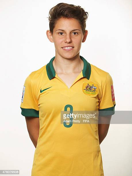 Ashleigh Sykes of Australia poses for a portrait at the Delta Hotel on June 5 2015 in Winnipeg Canada