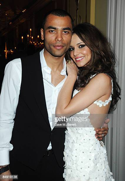 Ashley and Cheryl Cole attend the Universal Party following the Brit Awards 2009 at the Claridge's Hotel on February 18 2009 in London England