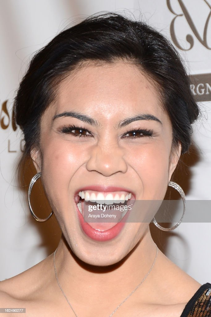 <a gi-track='captionPersonalityLinkClicked' href=/galleries/search?phrase=Ashley+Argota&family=editorial&specificpeople=5626349 ng-click='$event.stopPropagation()'>Ashley Argota</a> arrives at the 1st Annual Borgnine Movie Star Gala at Sportsmen's Lodge on February 23, 2013 in Studio City, California.