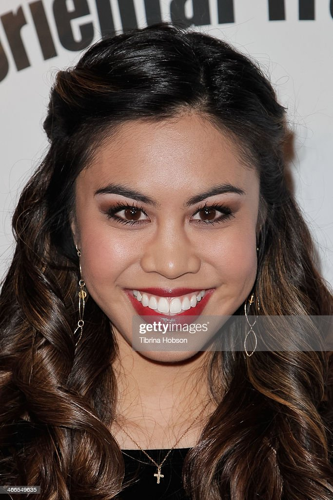 Ashley Argota attends the 2nd annual Borgnine movie star gala honoring actor Joe Mantegna at Sportman's Lodge on February 1, 2014 in Studio City, California.