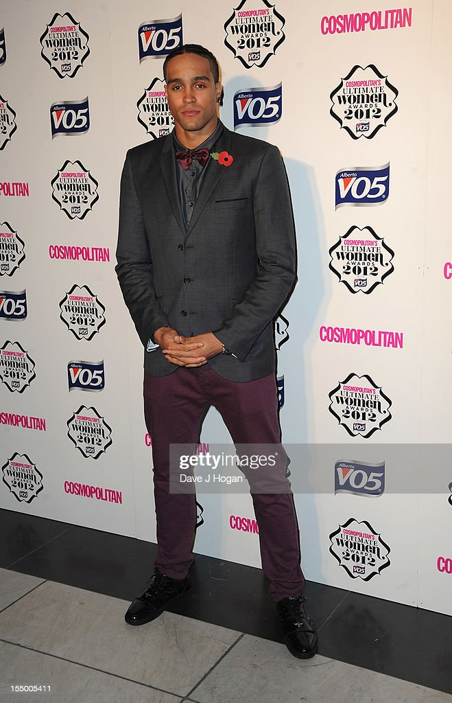 Ashley Banjo attends the Cosmopolitan Ultimate Woman of the Year awards at Victoria & Albert Museum on October 30, 2012 in London, England.