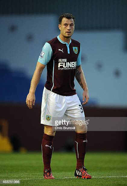 Ashley Barnes of Burnley in action during the pre season friendly match between Burnley and Celta Vigo at Turf Moor on August 05 2014 in Burnley...