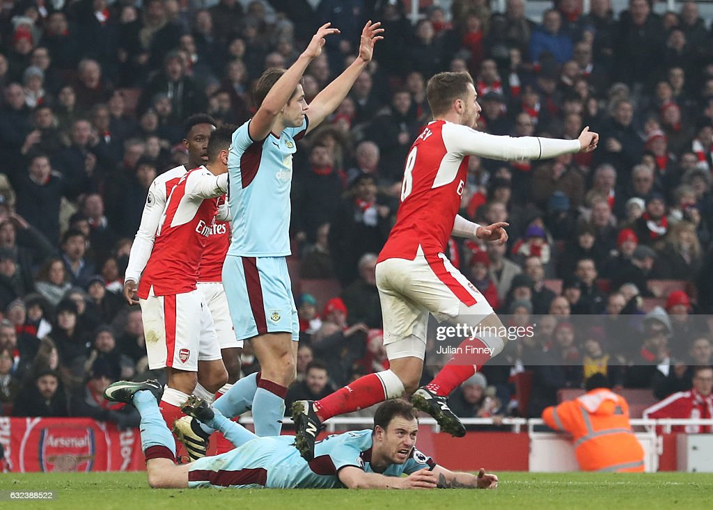 Arsenal v Burnley - Premier League