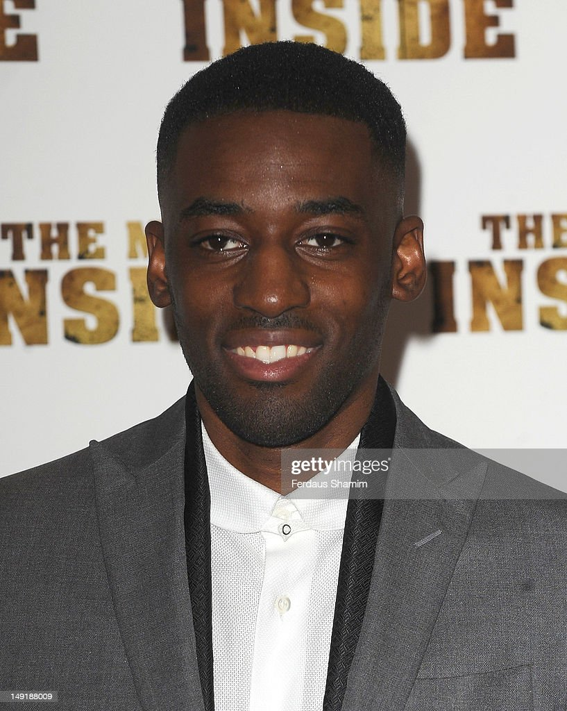 Ashley Bashy Thomas attends the UK premiere of The Man Inside at Vue Leicester Square on July 24, 2012 in London, England.