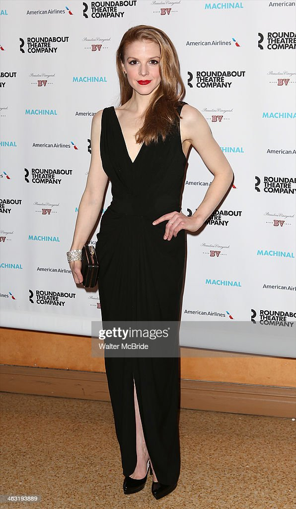 Ashley Bell attends the Broadway opening night party for 'Machinal' at American Airlines Theatre on January 16, 2014 in New York, New York.