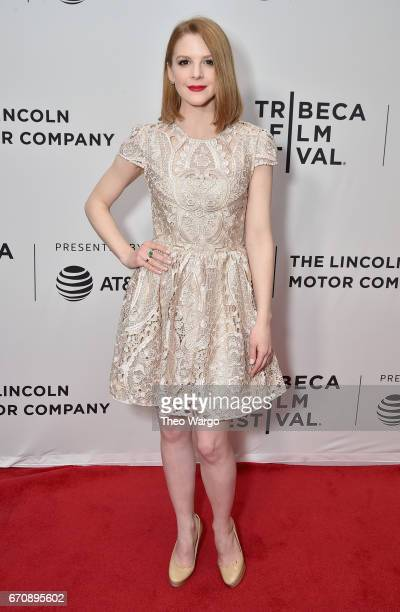 Ashley Bell attends the 'Psychopaths' Premiere during 2017 Tribeca Film Festival at Cinepolis Chelsea on April 20 2017 in New York City