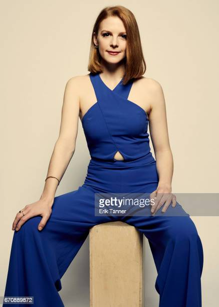 Ashley Bell from 'Psychopaths' poses at the 2017 Tribeca Film Festival portrait studio on April 20 2017 in New York City