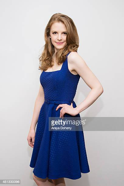 Ashley Bell poses for a portrait at BritWeek's Evening Of Shakespeare on April 25 2014 in Santa Monica California