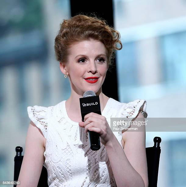 Ashley Bell speaks at AOL Build Presents Ashley Bell From The New Movie 'Carnage Park' at AOL Studios In New York on June 29 2016 in New York City