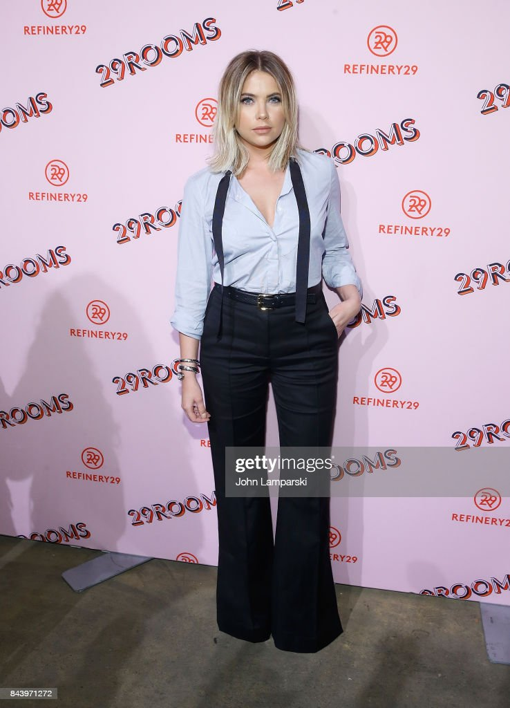 Ashley Benson attends 29Rooms opening night 2017 on September 7, 2017 in New York City.